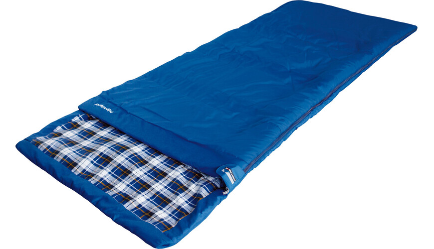 High Peak Highland Schlafsack Links blau